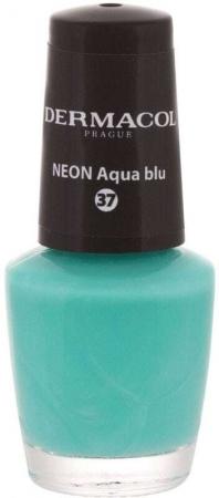 Dermacol Neon Nail Polish 37 Neon Aqua Blu 5ml
