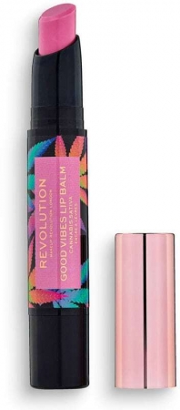 Makeup Revolution London Good Vibes Cannabis Sativa Lip Balm Euphoria 2,2gr