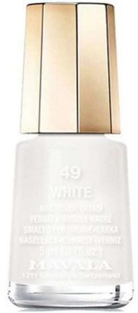 Mavala Mini Color Nail Polish 49 White 5ml