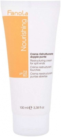 Fanola Nourishing Restructuring Cream Leave-in Hair Care 100ml (Split Ends - Dry Hair)