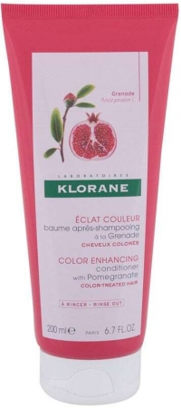 Klorane Pomegranate Color Enhancing Conditioner 200ml (Colored Hair - Highlighted Hair)