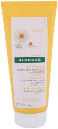 Klorane Chamomile Blond Highlights Conditioner 200ml (Blonde Hair)