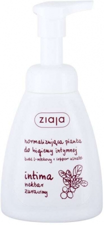 Ziaja Intimate Foam Wash Cranberry Nectar Intimate Cosmetics 250ml