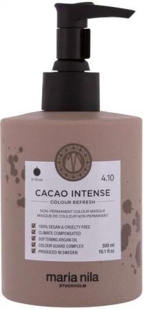 Maria Nila Colour Refresh Hair Color 4,10 Cacao Intense 300ml (Colored Hair)
