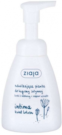 Ziaja Intimate Foam Wash Lotus Flower Intimate Cosmetics 250ml