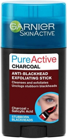 Garnier Pure Active Charcoal Anti-Blackhead Exfoliating Stick Face Mask 50ml (For All Ages)