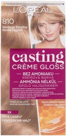 L´oréal Paris Casting Creme Gloss Hair Color 810 Vanilla Icecream 48ml (Colored Hair - All Hair Types)
