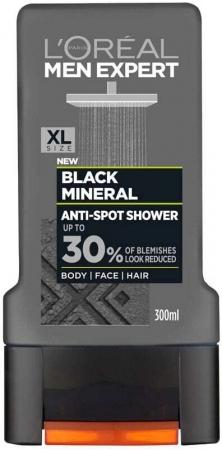 L´oréal Paris Men Expert Black Mineral Anti-Spot Shower Gel 300ml