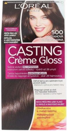 L´oréal Paris Casting Creme Gloss Hair Color 500 Medium Brown 48ml