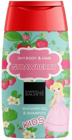 Gabriella Salvete Kids Strawberry 2in1 Shower Gel 300ml