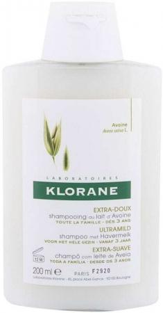 Klorane Oat Milk Ultra-Gentle Shampoo 200ml (All Hair Types)