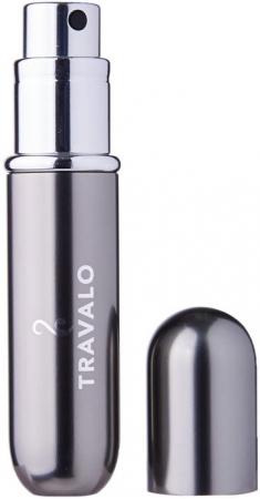 Travalo Travalo Classic HD Refillable Titanium 5ml