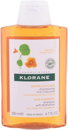 Klorane Nasturtium Anti-Dandruff Shampoo 200ml (Dandruff)