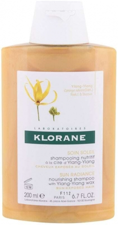 Klorane Ylang-Ylang Wax Sun Radiance Shampoo 200ml (All Hair Types)