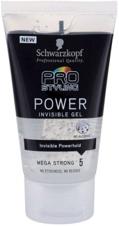 Schwarzkopf Taft Power Invisible Hair Gel 150ml (Extra Strong Fixation)