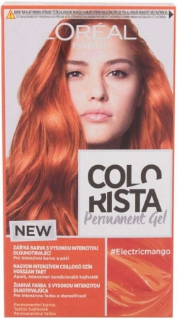 L´oréal Paris Colorista Permanent Gel Hair Color Electric Mango 60ml (Colored Hair - All Hair Types)