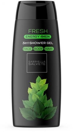 Gabriella Salvete Energy 4Men Fresh 3in1 Shower Gel 250ml