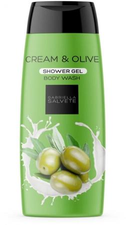 Gabriella Salvete Shower Gel Cream & Olive Shower Gel 250ml