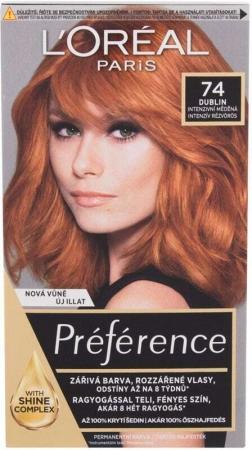 L´oréal Paris Préférence Féria Hair Color 74 Mango 60ml (Colored Hair - All Hair Types)