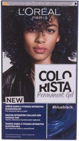 L´oréal Paris Colorista Permanent Gel Hair Color Blue Black 60ml (Colored Hair - All Hair Types)
