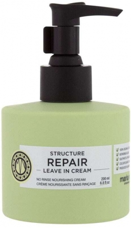 Maria Nila Structure Repair Leave In Cream Leave-in Hair Care 200ml (Weak Hair - Damaged Hair - Dry Hair)