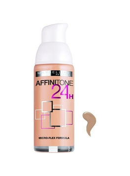 Maybelline Affinitone Foundation 24h Spf19 30 Sand 30ml