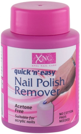 Xpel Nail Care Quick n Easy Acetone Free Nail Polish Remover 75ml