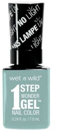 Wet N Wild 1 Step Wonder Gel Nail Color Pretty Peas 7ml 7311