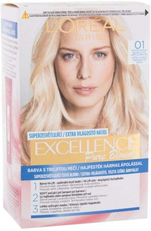 L´oréal Paris Excellence Creme Triple Protection Hair Color 01 Lightest Natural Blonde 48ml