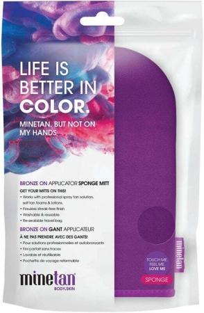 Minetan Bronze On Tan Applicator Mitt Self Tanning Product 1pc