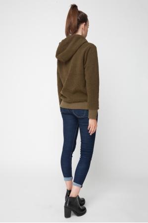 Cozy Sherpa Fleece Pullover