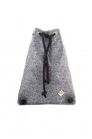Dourvas Stitch Backpack Grey