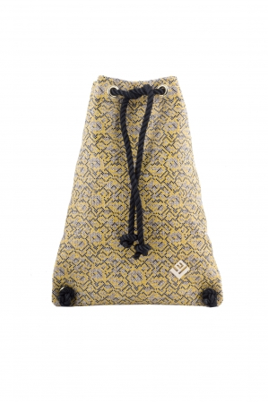 Dourvas Stitch Backpack Yellow