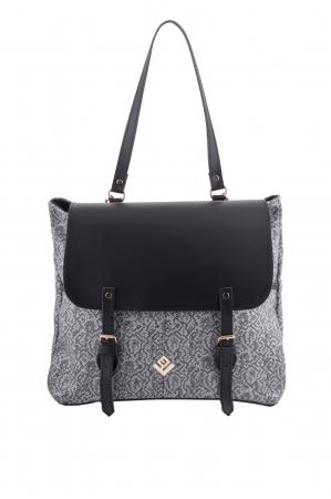 Trusting Stitch Backpack Grey