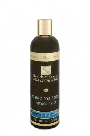 Treatment Mud Shampoo for Hair and Scalp