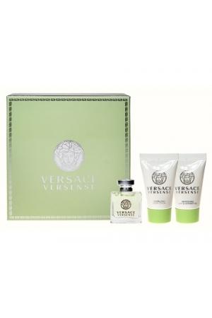 Versace Versense Eau De Toilette 5ml Combo: Edt 5ml + 25ml Shower Gel + 25ml Body Lotion