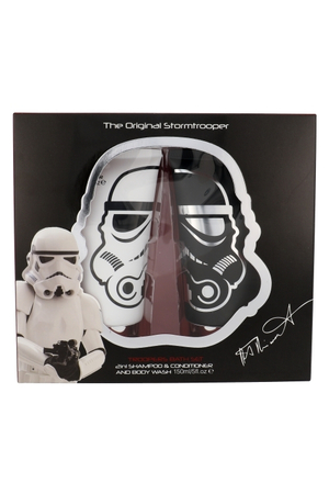 Star Wars Stormtrooper Shampoo 150ml Combo: Shampoo 2 In 1 150 Ml + Shower Gel 150 Ml (All Hair Types)