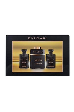 Bvlgari Man In Black Eau De Parfum 60ml Combo: Edp 60ml + 40ml Aftershave Balm + 40ml Shower Gel