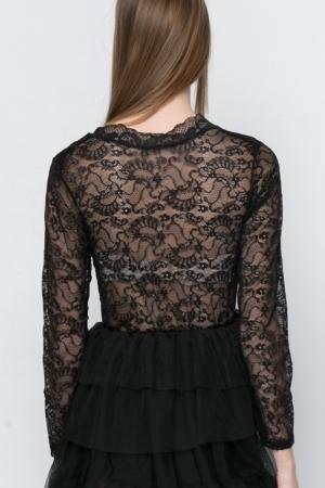 COZY Black Mini Dress