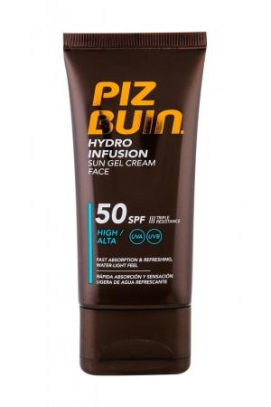 Piz Buin Hydro Infusion Face Sun Care 50ml Waterproof Spf50