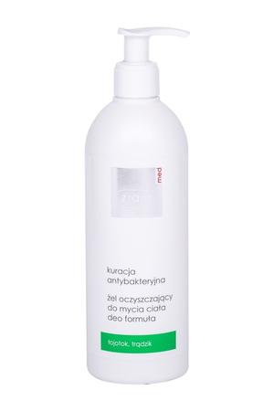 Ziaja Med Antibacterial Treatment Cleansing Gel Cleansing Gel 400ml (Oily)