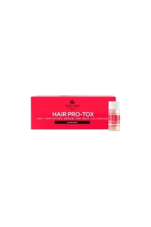 KALLOS Hair Pro-Tox Hair Anti-Irritation Serum For Hair Coloruing serum do farbowania wlosow 12x10ml