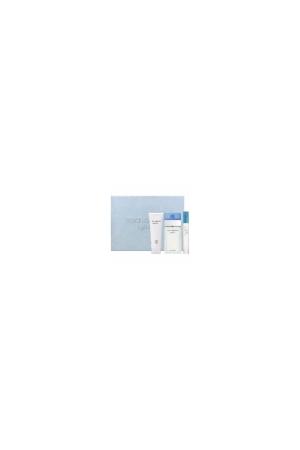 Dolce&gabbana Light Blue Eau De Toilette 100ml Combo: Edt 100ml + 100ml Body Cream + 7,4ml Edt