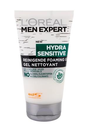 L/oreal Paris Men Expert Hydra Sensitive Cleansing Gel 150ml (All Skin Types)