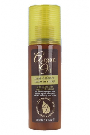 Xpel Argan Oil Heat Defence Leave In Spray For Heat Hairstyling 150ml
