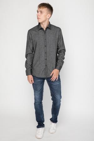 Grey Slim Fit Shirt