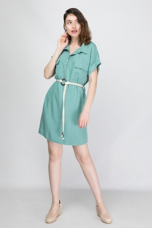Lyocell Dress With Pockets