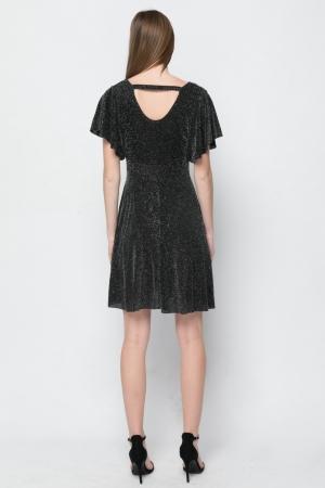 Kristal Skater Mini Dress