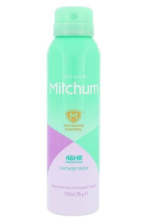 Mitchum Advanced Control Shower Fresh Antiperspirant 150ml Alcohol Free 48hr (Deo Spray)