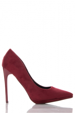 Burgundy Court Shoes